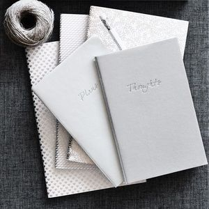 THE WHITE COMPANY THOUGHTS & PLANS MINI NOTEBOOKS